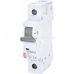 Авт. вимикач ETIMAT 6 1p C 6А (6 kA) ETI