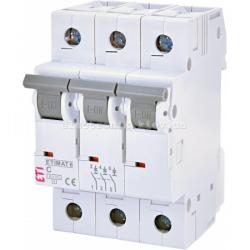 Авт. вимикач ETIMAT 6 3p C 6А (6 kA) ETI