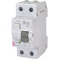 Диф. автоматический выключатель KZS-2M C 25/0,03 тип AC (10kA) ETI