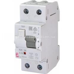 Диф. автоматический выключатель KZS-2M C 32/0,03 тип AC (10kA) ETI