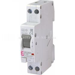 Диф. автоматический выключатель KZS-1M SUP C 25/0,03 тип A (6kA) (верхнее подключ.) ETI