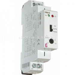Реле управления лестничным освещением CRM-42 230V (с сигнализацией)