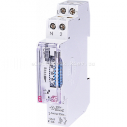 Электромеханическое реле времени APC-DR1 (суточное с резервом хода)