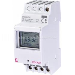 Цифровой таймер Eticlock-10 230V (1x16A_AC1)
