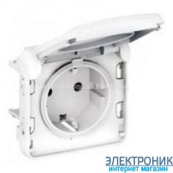 Розетка Белая Legrand Plexo ip55