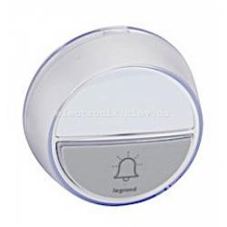 Кнопка звонка COMFORT на батарейках, IP44, белый