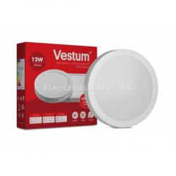 Светильник LED накладной круглый Vestum 12W 4000K 220V