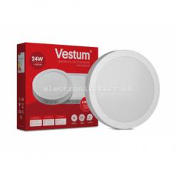 Светильник LED накладной круглый Vestum 24W 4000K 220V