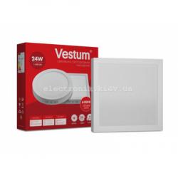 Светильник LED накладной квадратный Vestum 24W 4000K 220V