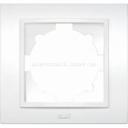 Рамка 1-я EL-BI Zena белый