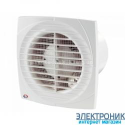 Осевой вентилятор Вентс 100 ДВ. Оборудован шнурковым выключателем.