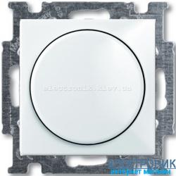 Светорегулятор 60-600Вт ABB Basic 55 белый