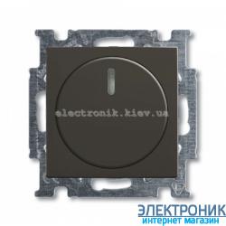 Светорегулятор 60-600Вт ABB Basic 55 шато черный