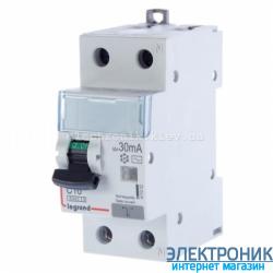 Дифференциальный автомат Legrand DX3 1п+N C40A 30mA (Тип AC) 411006
