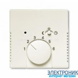 Терморегулятор для теплого пола, 10А от 5 до 30СABB Basic 55 бежевый