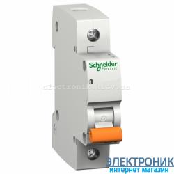 Автоматический выключатель Schneider-Electric Домовой ВА63 1P 63А C