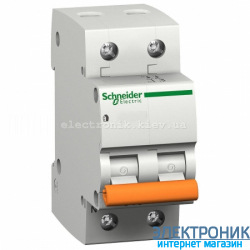 Автоматический выключатель Schneider-Electric Домовой ВА63 1P+N 40A C