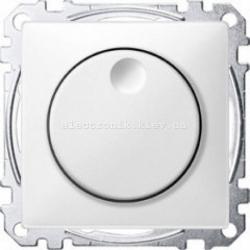 Светорегулятор универсальный Merten System Design20-600, Вт полярно-белый