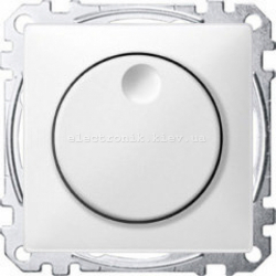 Светорегулятор для LED ламп  Merten System Design полярно-белый