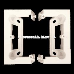"""Подрозетник настенный SIMON10 наборной тип """"С"""", кремовый (в комплекте 2 шт, глубина 40 мм )"""