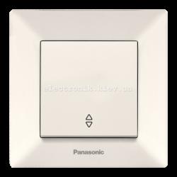 Panasonic ARKEDIA SLIM крем Выключатель проходной