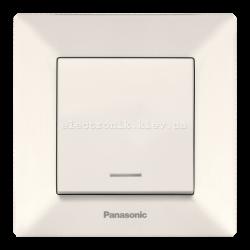Panasonic ARKEDIA SLIM крем Выключатель с подсветкой