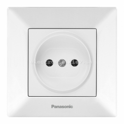Panasonic ARKEDIA SLIM белый Розетка