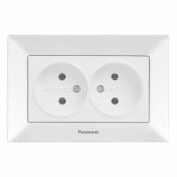 Panasonic ARKEDIA SLIM белый Розетка двойная