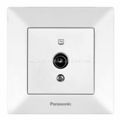 Panasonic ARKEDIA SLIM белый Розетка телевизионная проходная