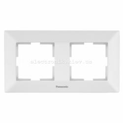 Panasonic ARKEDIA SLIM белый Рамка 2-я горизонтальная
