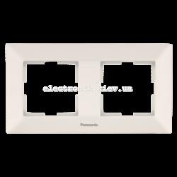 Panasonic ARKEDIA SLIM крем Рамка 2-я горизонтальная