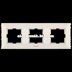 Panasonic ARKEDIA SLIM крем Рамка 3-я горизонтальная