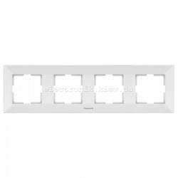 Panasonic ARKEDIA SLIM белый Рамка 4-я горизонтальная