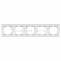 Panasonic ARKEDIA SLIM белый Рамка 5-я горизонтальна