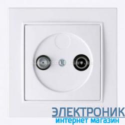 Розетка ТВ-Радио Концевая 1.5dB THOR