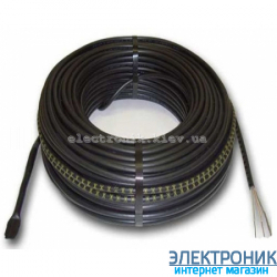 Нагревательный кабель Hemstedt DR (2.0 м2), 300 Вт, 24 м, 12.5 Вт/м.