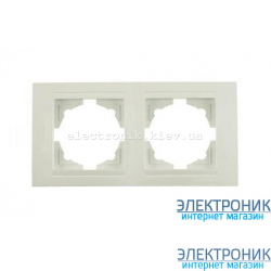 Neoline рамка 2-ая, белая
