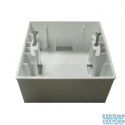 Neoline коробка для наружного монтажа, белая