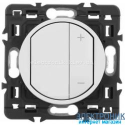 Светорегулятор Legrand Celiane 3-400Вт с лицевой панелью Белый