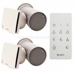 Комплект вентиляции 2-х комнатной квартиры Aspira Ecocomfort 160 RF ErP V2