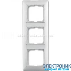 Рамка 3-поста ABB Basic 55 белый