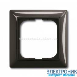 Рамка 1-пост ABB Basic 55 шато черный