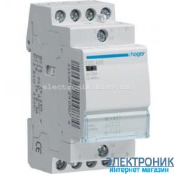 Контактор Hager ESC425 - 230В/25A, 4НО