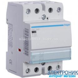 Контактор Hager ESC240 - 230В/40A, 2НО