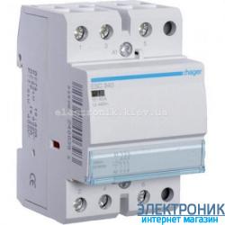 Контактор Hager ESC340 - 230В/40A, 3НО