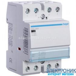 Контактор Hager ESC464 - 230В/63A, 4НЗ