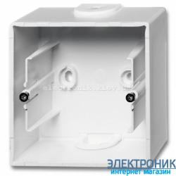 Коробка для открытого монтажа 1-пост ABB Basic 55 белый