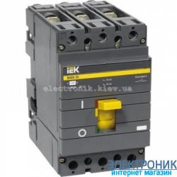 Выключатель автоматический IEK ВА88-35 3Р 35кА 125A SVA30-3-0125
