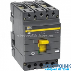 Выключатель автоматический IEK ВА88-35 3Р 35кА 160А SVA30-3-0160