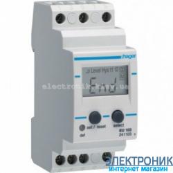 Реле контроля тока 1-фазное со встроенным амперметром Hager